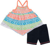 Little Lass Tank Top and Shorts Set - Preschool Girls 4-6x