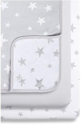 Snuz 3Pc Bedside Crib Bedding Set
