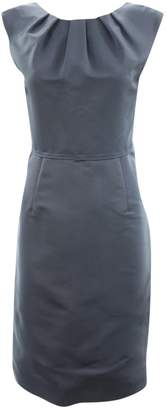 Lela Rose Blue Silk Dresses