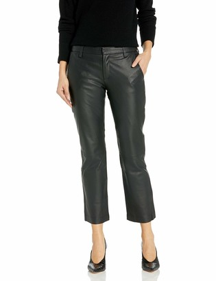 David Lerner Women's Leather Chino