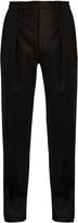 Lemaire Elasticated-waist slim-leg wool trousers