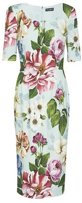 Dolce & Gabbana Long flowers dress