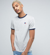 Russell Athletic T-shirt With Embroidered Small Logo