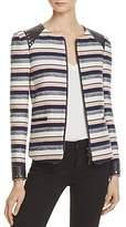 Rebecca Minkoff Stanford Stripe Jacket