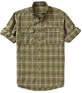 Beretta Quick Dry Plaid Long-Sleeve Woven Shirt