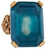 Stephen Dweck Blue Agate Triplet Cocktail Ring