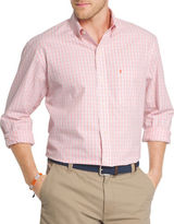 Izod Classic Fit Poplin Mini Check Shirt