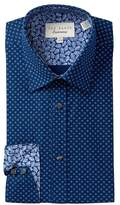 Ted Baker Geo Print Trim Fit Dress Shirt