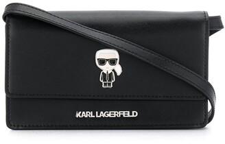 Karl Lagerfeld Paris K/Ikonik cross body bag
