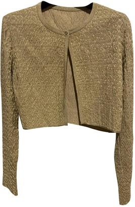 Alaia Gold Knitwear for Women