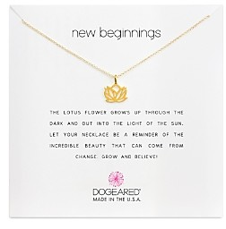 Dogeared New Beginnings Necklace, 16