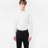 Paul Smith Men's Tailored-Fit White 'Suit Charm Polka' Print Shirt