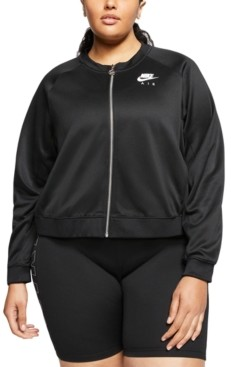 Nike Plus Size Air Zip-Front Logo Jacket