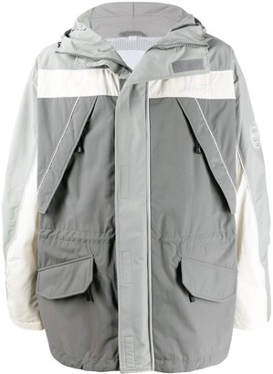 Martine Rose Colour Blocked Rain Jacket