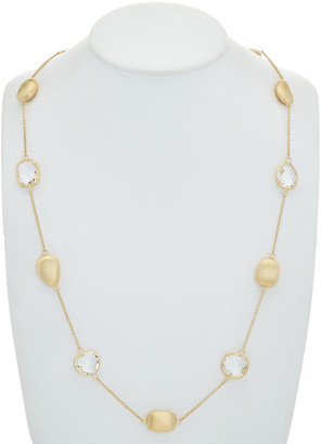 Rivka Friedman 18K Clad Crystal 33In Necklace
