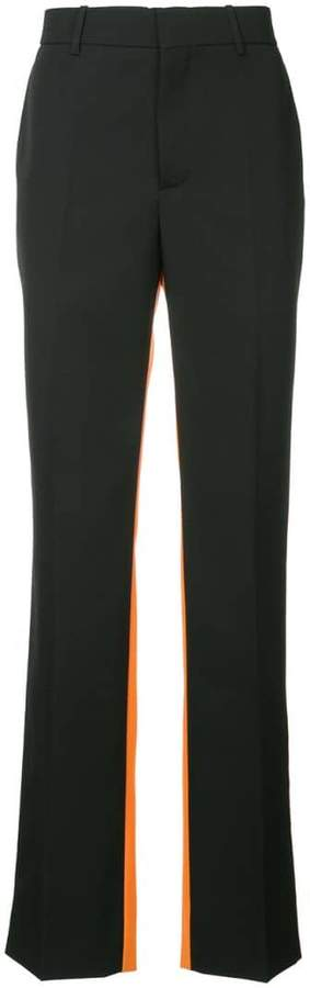 Calvin Klein colour blocked trousers