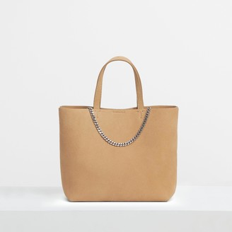 Theory Micro Tote in Suede