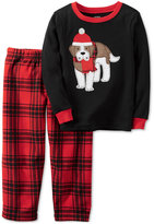 Carter's 2-Pc. Plaid Dog Pajama Set, Little Boys (2-7) & Big Boys (8-20)