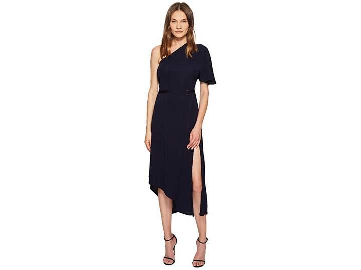 Yigal Azrouel Matte Jersey One Shoulder Asymmetric Dress Women's Dress