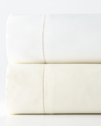 Sferra King 1,020 Thread Count Solid Sateen Fitted Sheet