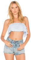 Blue Life Lola Top in Blue. - size L (also in M,S,XS)