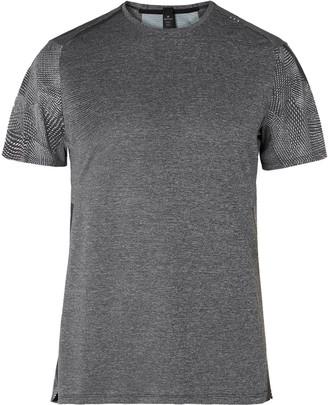Lululemon Fast and Free Elite Melange Mesh T-Shirt - Men - Gray