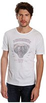 Lucky Brand Men's Military Bear Graphic Tee