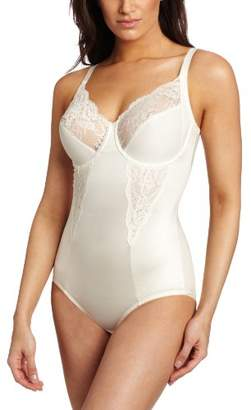 Maidenform Women's Pretty Collection - Bodybriefer With Lace Control Knickers, Off-One (Size:)