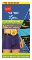Hanes Premium Boxer Briefs Hanes Premium 4 Pk Multi-colored XL