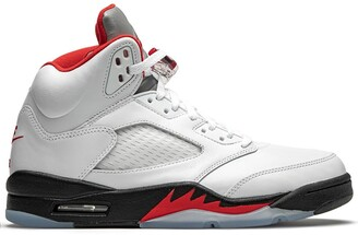 Jordan Air 5 Retro fire red silver tongue 2020