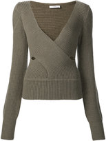 Tome crossover sweater - women - Merino - S