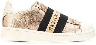 Moa Master Of Arts slip-on metallic sneakers