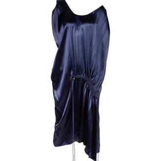 Lanvin Navy Viscose Dresses