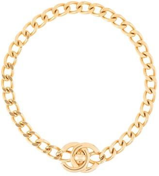 Chanel Pre-Owned 1996 SS CC turn-lock bracelet