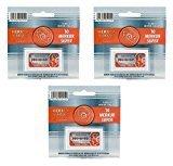 Merkur Double Edge Safety Razor Blades - 30 Ct. + FREE Schick Slim Twin ST for Sensitive Skin