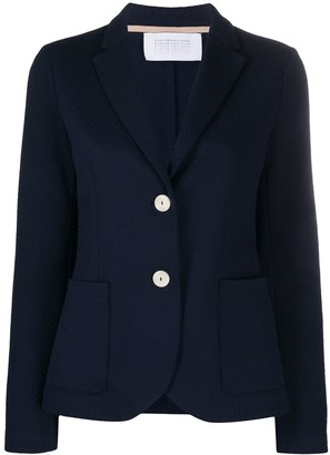 Harris Wharf London Tailored Single-Breasted Blazer