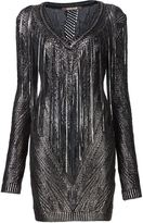 Roberto Cavalli knitted mini dress - women - Cotton/Viscose - 42