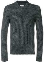 Maison Margiela ribbed crew neck sweater