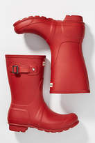 Anthropologie Hunter Boots Original Short Rain Boots