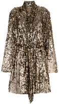 ATTICO sequins embellished coat