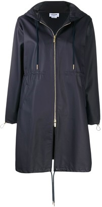 Thom Browne Dolphin-Print Raincoat