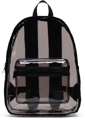 Herschel Classic Clear Mid-Volume Backpack Black Smoke