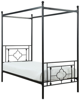 Canopy Beds For The World S, The Curated Nomad Quatrefoil Queen Canopy Bed