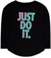 Nike Graphic-Print T-Shirt, Toddler Girls (2T-4T) & Little Girls (2-6X)