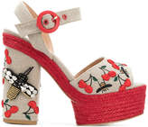 Castaner embellished bee platforms