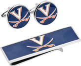 Cufflinks Inc. Men's U of Virginia Cavaliers Cufflinks/Money Clip Set