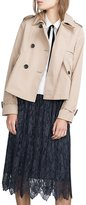 Haoduoyi Womens Boyfriend British Classic Long Sleeve Trench Coat (M, )