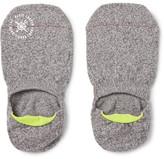 Mr. Gray - Mélange Stretch-knit No-show Socks - Gray