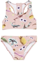 Stella McCartney Scoopneck Printed Bikini Set