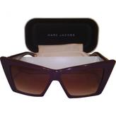Marc Jacobs Purple Sunglasses